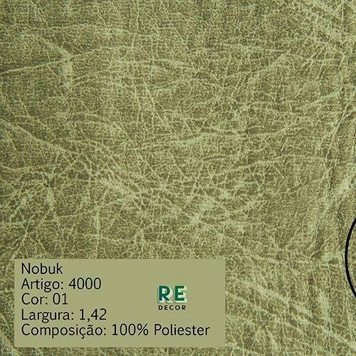 Tecido - Suede Nobuk para Tapeçaria