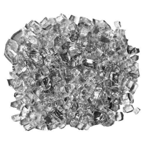 Cristal Cinza Onix para Lareira à Gás - Saco com 5 Kg