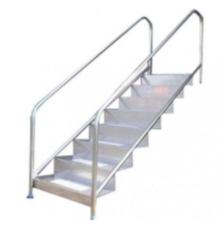Escada para Piscina - Fácil Fisioterapia - 1,50 M