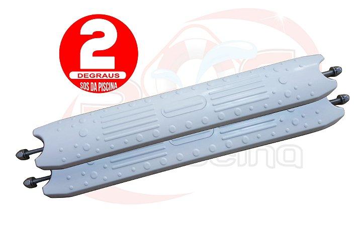 Kit 02 Degraus para Escada de Piscina - ABS - Anatômico