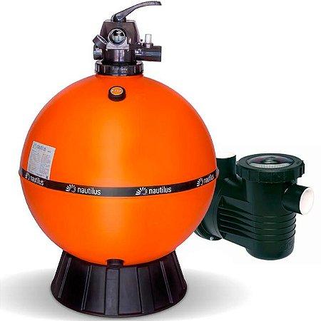 Filtro E Motobomba Para Piscinas até 170 M³ - F750p - PF-17 1,5 Cv - Mix Nautilus e Dancor