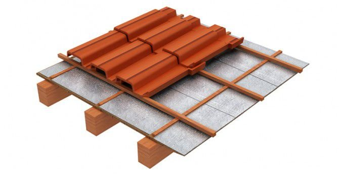 Manta para Telhado - Multiterm Aluminium - 5mm 1 face - m²