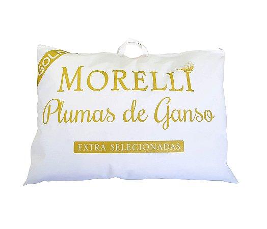 Travesseiro Gold   Plumas De Ganso 50 x 70 cm 233 fios - Morelli