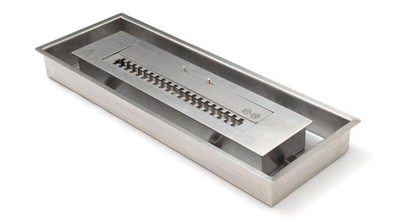 Caixa Externa para Queimadores _Ecológico - Álcool Etanol - 101 cm