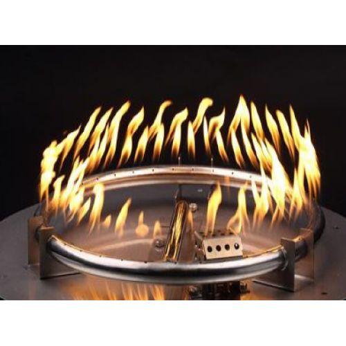 Fire Pit Redondo - Lareira a Gás para Área Externa