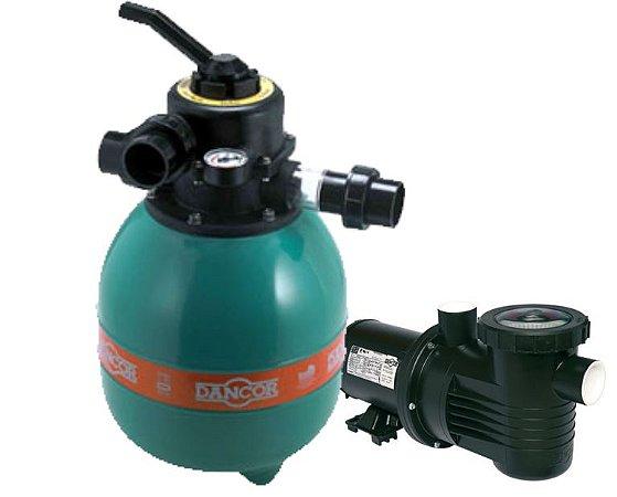 Filtro E Motobomba Dfr 11 Até 20 M³ -  1/4 Cv  - Dancor
