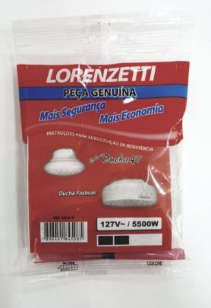 Resistência de 6800W 127V para Chuveiros Lorenzetti REF:3056 - B