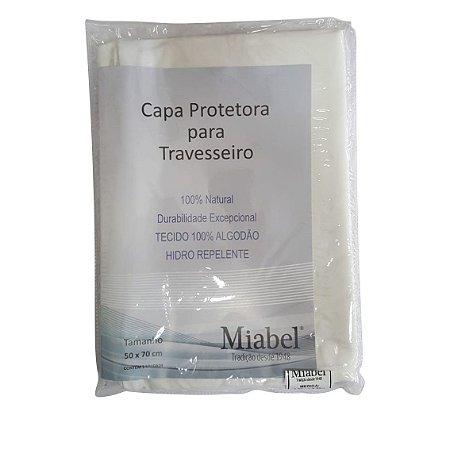 Fronha - Capa Proteção Travesseiros 50 x 70 Miabel