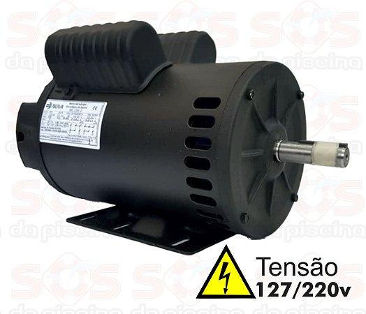 Motor De Betoneiras 110/220V - 2 cv - Monofasico - NOVAMOTORES