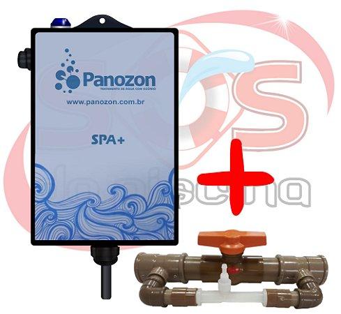 Ozônio Panozon SPA+ para banheiras - spas - ofurôs de até 7.000 litros (Gerador com Conjunto Venturi)