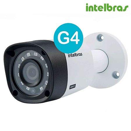 CAMERA INFRA BULLET MULTI HD 720P 1MP 2.6MM 20MTS VHD 1120B G4 INTELBRAS