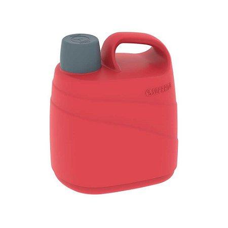 Botijão Cooler  5 Litros Isotérmico Alça VERMELHO Soprano