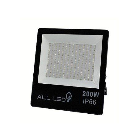 REFLETOR  LED ALL LED IP66 200W  18000 LUMENS  3000K
