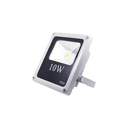 REFLETOR  LED CADS ALL LED PRATA  IP66 10W  900LUMENS  6500K