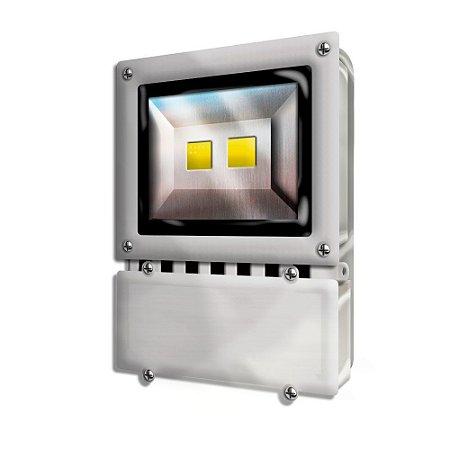 REFLETOR  LED ECOLUME PRETO 40W 1950  LUMENS 3000K