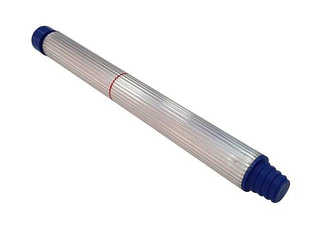 Ponteira para cabo Alumínio Com engate para Vassoura
