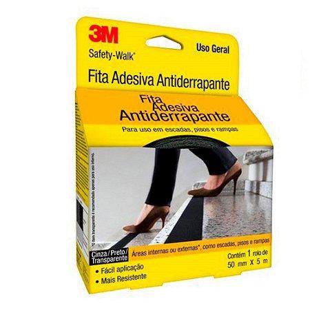 FITA ANTIDERRAPANTE 3M PRETA 50X5M