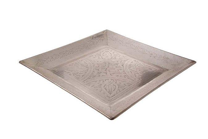 Bandeja de Bronze Square Tray 42cmx42cm Vênus Victrix