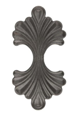 Ornamento Decorativo de Ferro Fundido 24cmx12cm Vênus Victrix