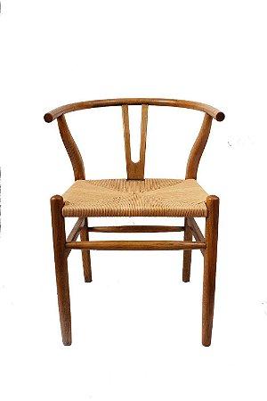 Cadeira em Madeira Woven 56cmx57,5cmx78cm Vênus Victrix