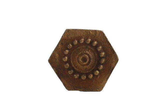 Puxador para Porta de Metal 2,5cmx2,5cmx3cm Vênus Victrix
