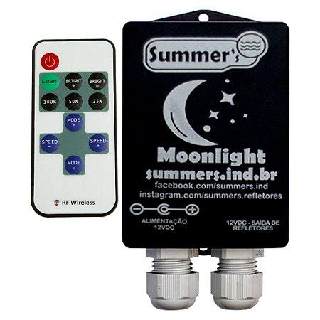 Caixa de Comando Monocromático Moonlight  Com Controle - Sem Fonte