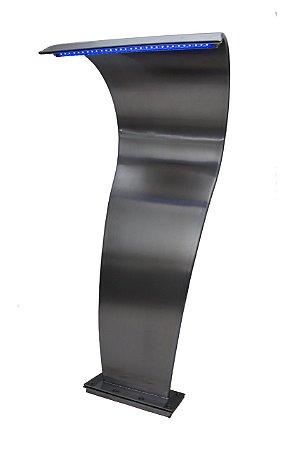 Cascata para Piscinas - Sertech Najar - Aço Inox 304 - LED - 1,05 M