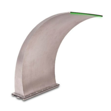Cascata para Piscinas - Aço Inox 304 - Wave - 80 cm LED