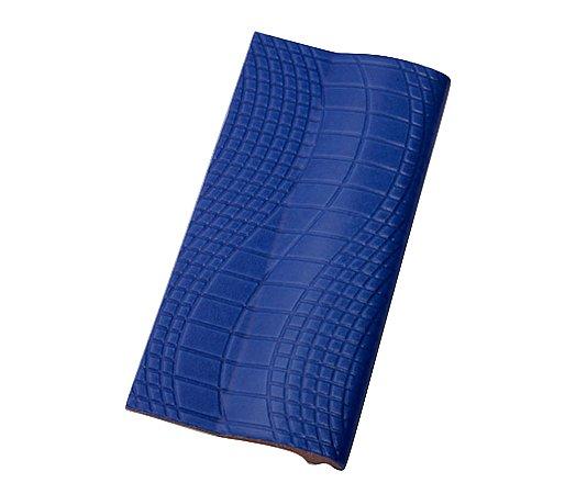 Borda Pastilhado Azul Royal   - 12 x 25 Cm