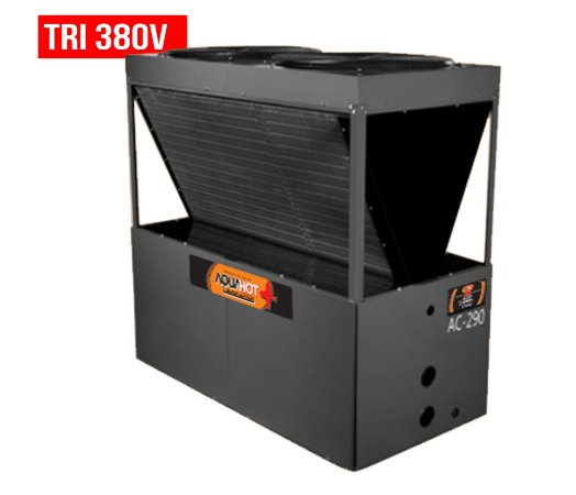 Trocador de Calor - Nautilus - Aquahot  - Black Edition -  AC- 290 - Tri 380v