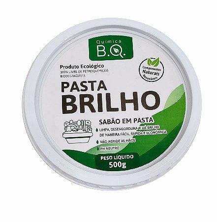 Sabão em Pasta - Pasta Brilho - B.Q Quimica - 500gr