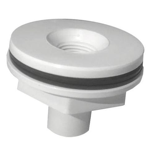 Nicho adaptador Refletores RGB - Rosca 1/2 - Alvenaria e Fibra