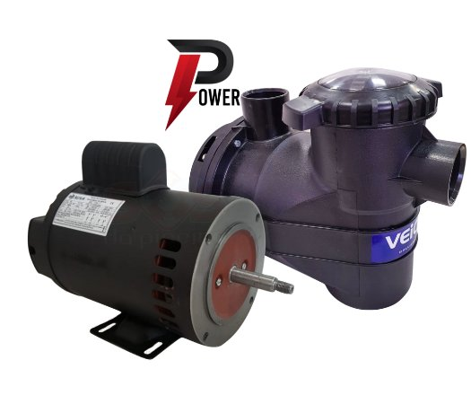 Motobomba Para piscina Power 1 cv com Motor 1,5  cv