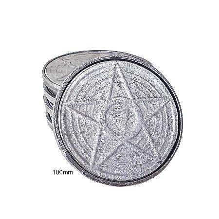 TAMPA CAIXA INSPEÇÃO 100 mm aluminio