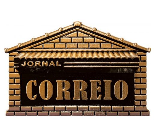 caixa de correio colonial alumínio fundido casinha, media