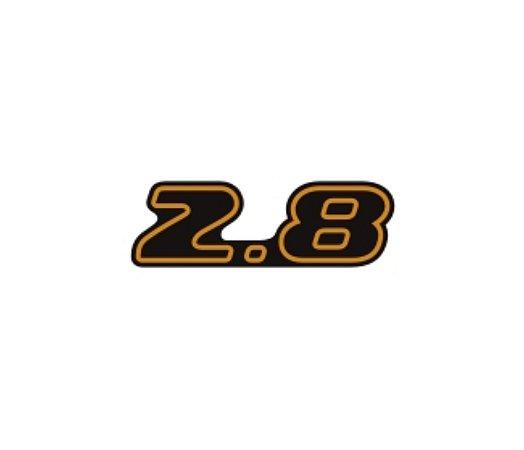 Adesivo Para S10 / Blazer Executive 02/03 - 2.8