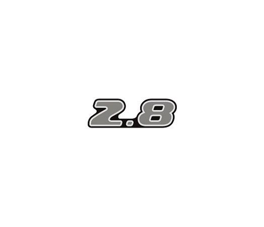 Adesivo Para S10 / Blazer Executive 02/03 - 2.8 Cromado