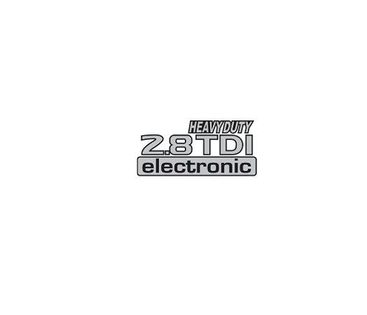 Adesivo Para Frontier -  2.8 TDI ELECTRONIC HEAVY DUTY
