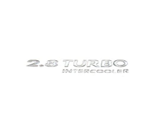 Adesivo Para S10 e Blazer 03/ - 2.8 TURBO INTERCOOLER