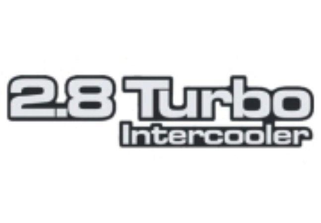 Adesivo Para Troller 2005 - 2.8 TURBO INTERCOOLER - Prata