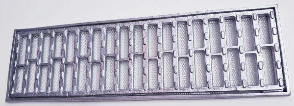 Ralo grelha e porta grelha anti-derrapante tela inseto 10x50