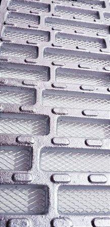 Ralo grelha e porta grelha anti-derrapante tela inseto 20x50