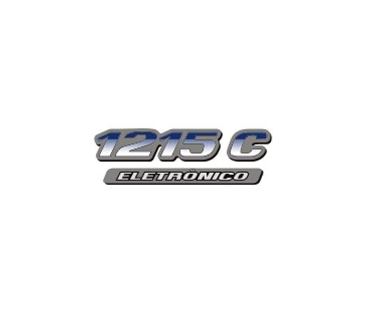 Adesivo Para Caminhão - Mercedes Benz 1215 C ELETRÔNICO