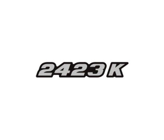 Adesivo Para Caminhão - Mercedes Benz - 2423 K