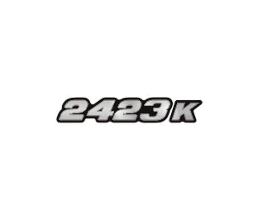 Adesivo Para Caminhão - Mercedes Benz - 2423 K Moderno