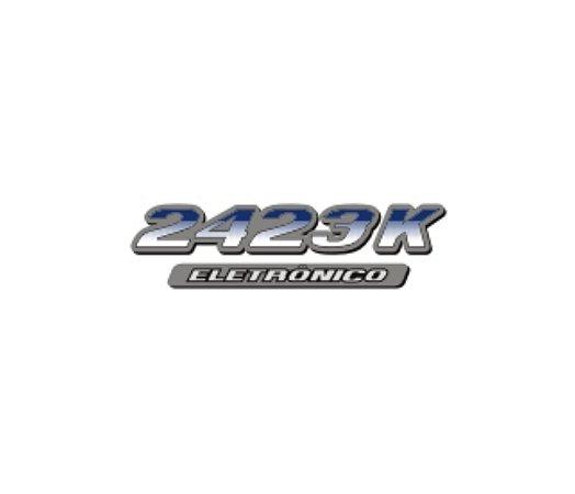 Adesivo Para Caminhão - Mercedes Benz - 2423 K Eletrônico
