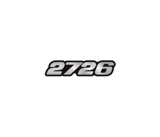 Adesivo Para Caminhão - Mercedes Benz - 2726 (moderno)
