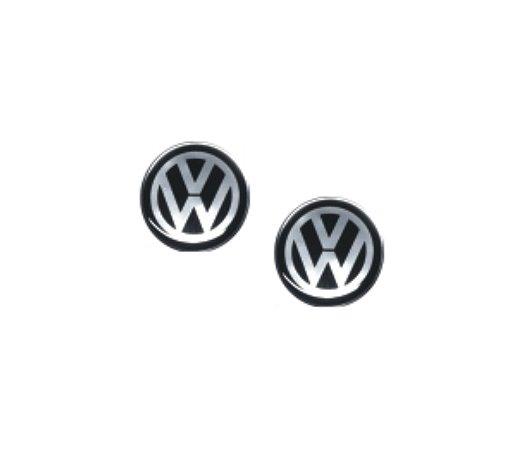 Adesivo Para CHAVE CANIVETE linha Volkswagen -  VOLKSWAGEN PRETO