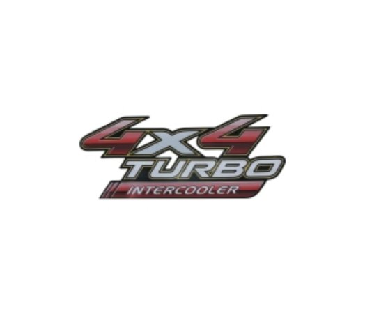 ADESIVO PARA Hilux 09/12 - 4X4 TURBO INTERCOOLER