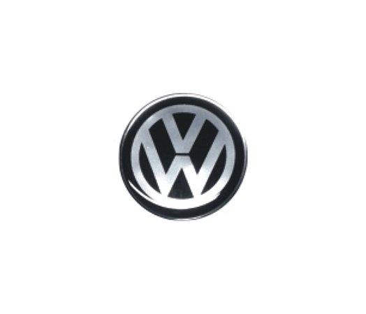 ADESIVO DE CALOTA Linha Volkswagen - VOLKSWAGEN PRETO